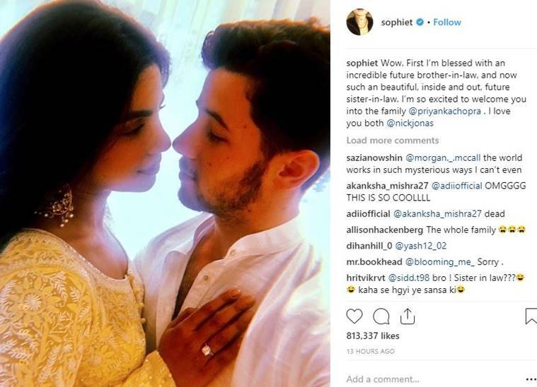 Congratulations, Priyanka and Nick