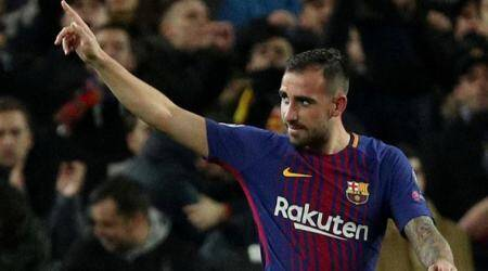 Borussia Dortmund find their striker: Barcelona's Paco Alcacer