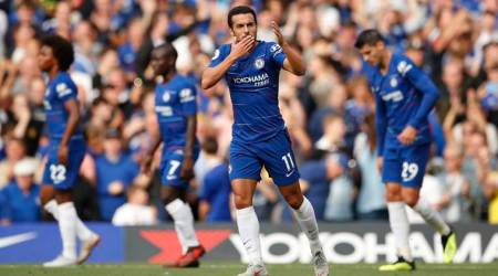 Chelsea beat Arsenal 3-2 to go on top: Highlights