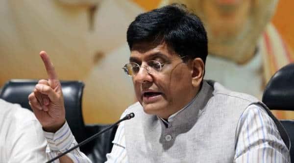 Railways minister, piyush goyal, piyush goyal reviews safety measures, trespass control measures, suburban railway, Indian Express