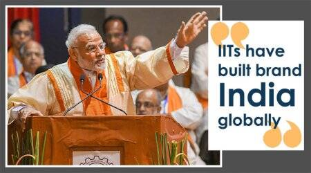 The nation is proud of IITs, says PMModi