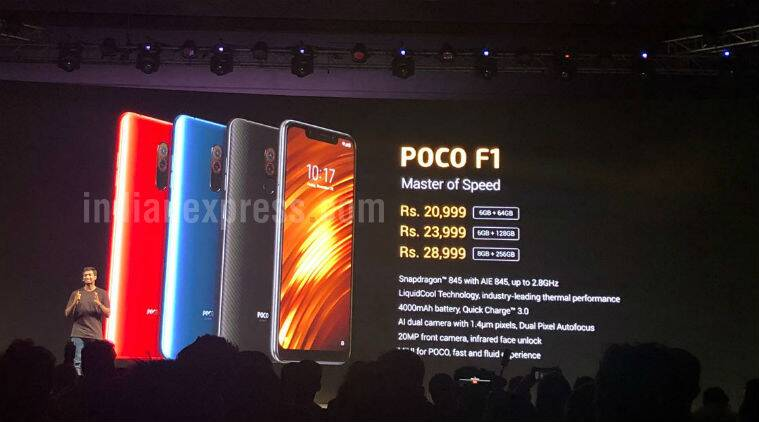 Image result for xiaomi poco f1 specifications