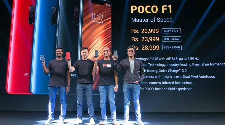 Xiaomi, Xiaomi Poco, Poco F1, Poco F1 by Xiaomi, Poco F1 price, Poco F1 sale, Poco F1 features, Poco F1 Flipkart, Poco f1 specifications