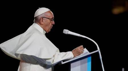 Pope's remedy to those seeking scandal: Prayer and silence