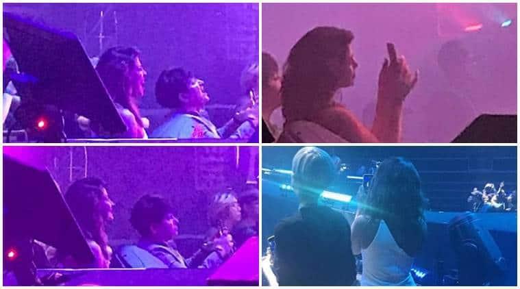 Priyanka Chopra, Nick Jonas, Singapore concert