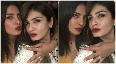 Priyanka Chopra shows off engagement ring at Manish Malhotra's party