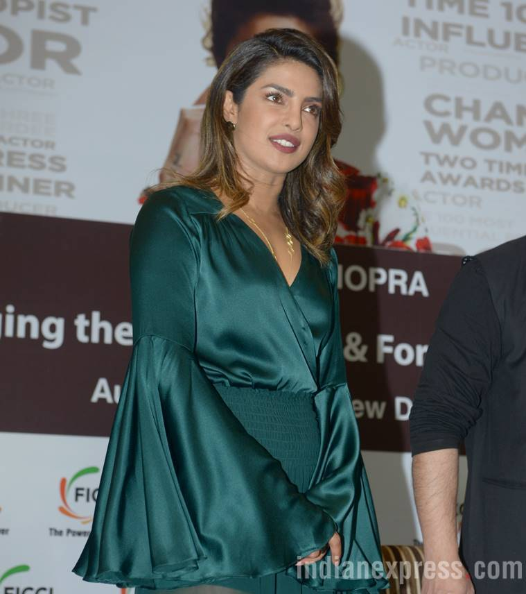 Priyanka Chopra, Priyanka Chopra fashion, Priyanka Chopra movies, The Sky is Pink, Priyanka Chopra updates, Priyanka Chopra latest pics, celeb fashion, bollywood fashion, indian express, indian express news
