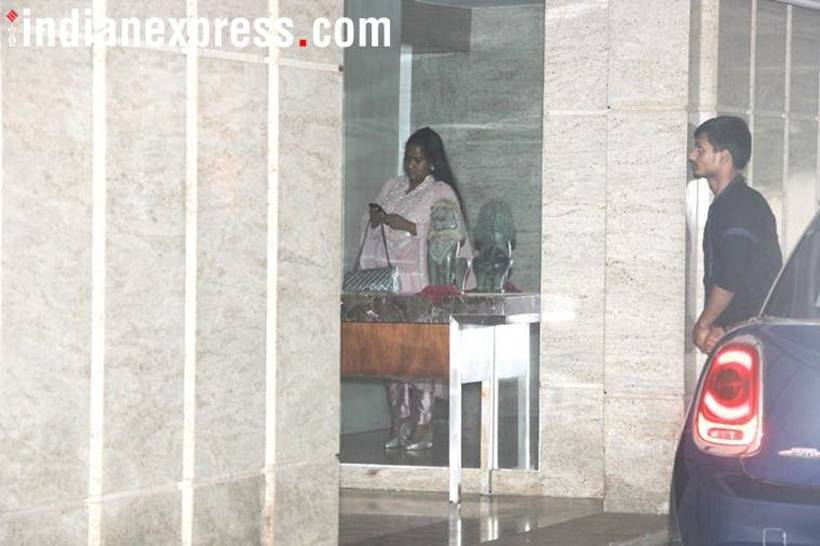 Arpita Khan Sharma at priyanakc chopra and nick jonas engagement