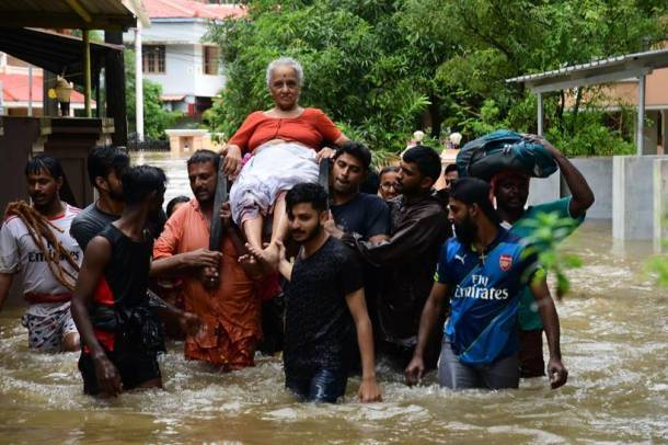 Heavy rains, landslide throw life out of gear in Kerala