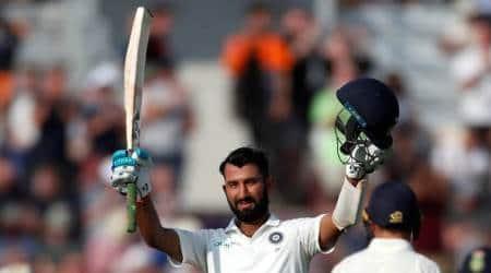 India vs England: Cheteshwar Pujara slams 15th Test century, first inEngland