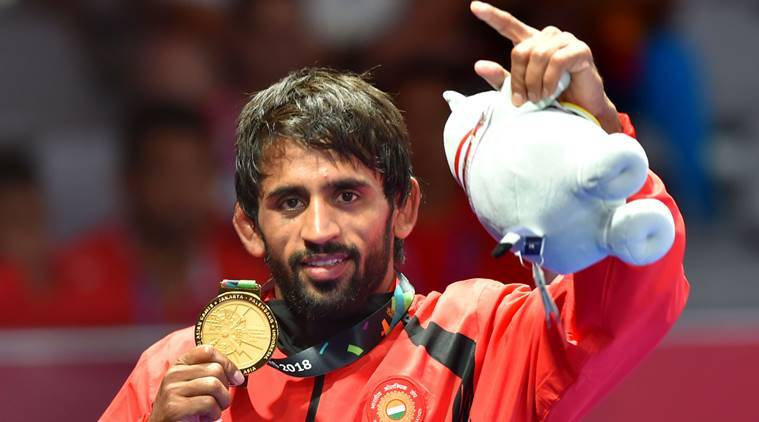 bajrang punia gold