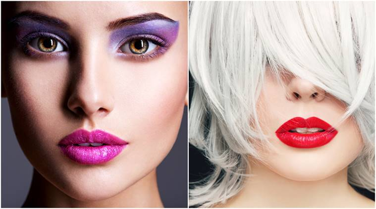 beauty trends, pinterest beauty trends, beauty trends report 2018 pinterest, pinterest beauty report, japan beauty trends, korean beauty trends, France beauty trends, purple eye shadow, indian express, indian express news