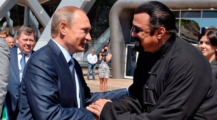 Steven Seagal appointed Russia's special envoy to improve ties with the US