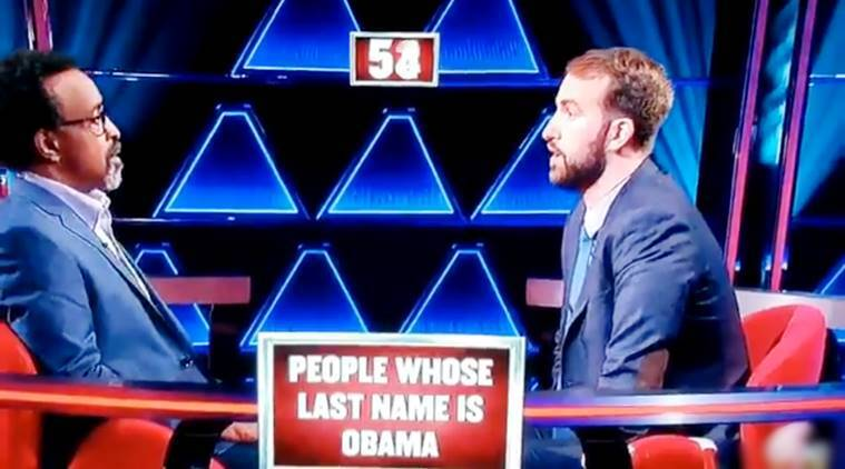 quiz show, abc quiz show, man confuses obama with osama, man osama obama confusion, viral video, indian express, indian express news