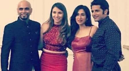 Raghu Ram, Natalie Di Luccio engagement
