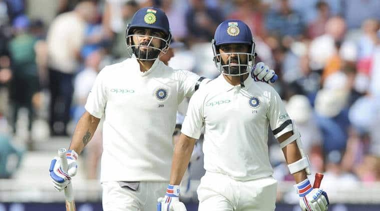 India vs England 3rd Test, Day 1: Virat Kohli-Ajinkya Rahane's 159-run partnership helps India post 307/6 on Day 1