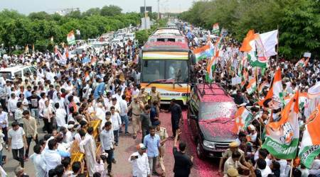 Rahul Gandhi kicks off Congress campaign in Rajasthan, targets PM Narendra Modi on Rafale deal