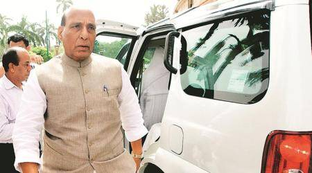 Pakistan must decide how to live peacefully with neighbours, says Rajnath Singh
