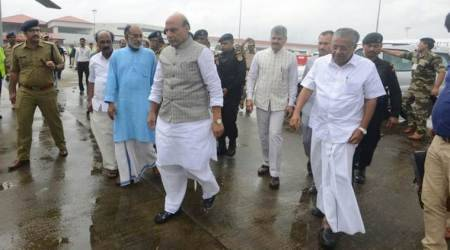 Kerala floods: Rajnath Singh announces Rs 100 crore immediate assistance for affected areas