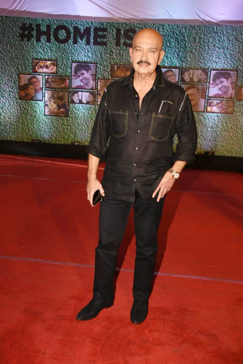 rakesh roshan in home screening