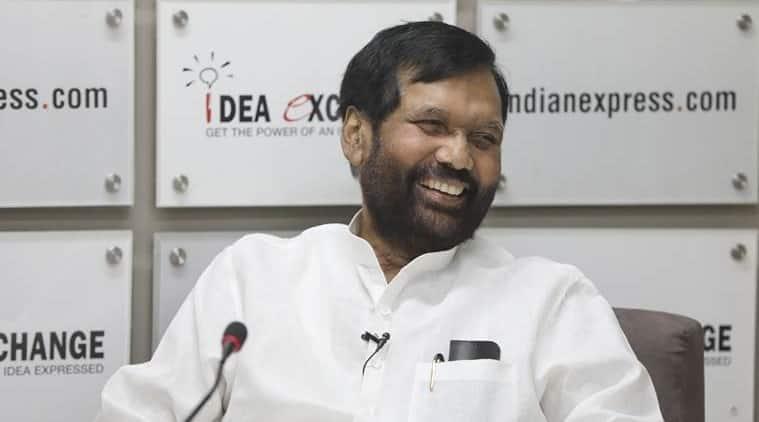 Union Minister and LJP chief Ram Vilas Paswan.