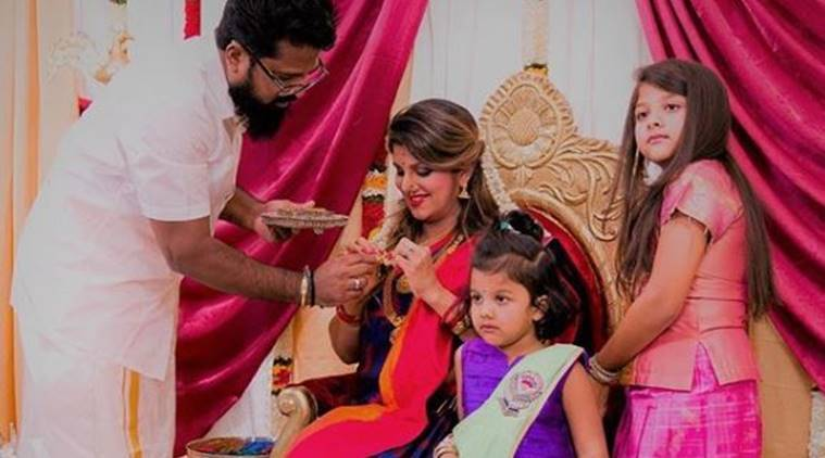 Rambha dances away at baby shower, see the adorable photos