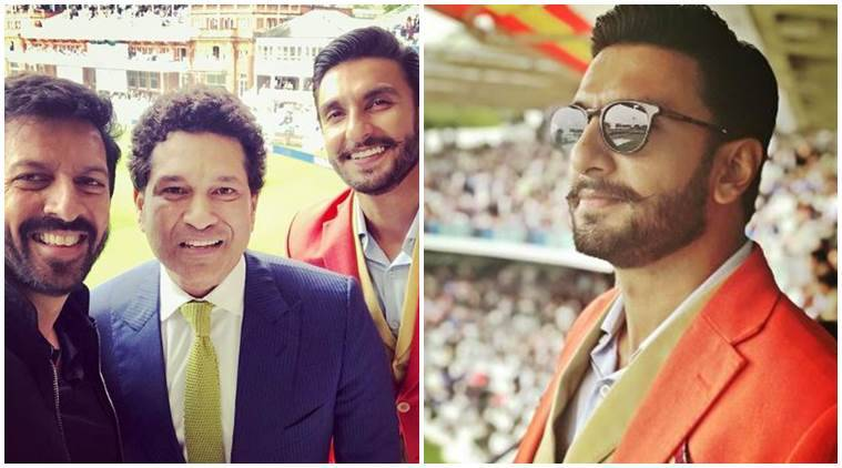 Ranveer Singh begins prep for 83 with Sachin Tendulkar at Lords