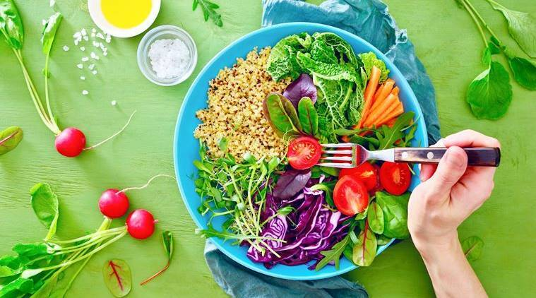 national nutrition week, national nutrition week 2018, raw food diet, raw food v/s cooked food, types of diet, healthy diets, what to eat raw food paleo diet, indian express, indian express news