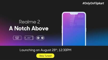 Realme 2 listed on Flipkart with 6.2-inch display, 4230mAh battery