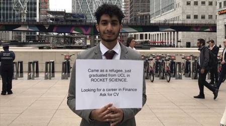 Refugee rocket scientist's hunt for job goes viral on social media