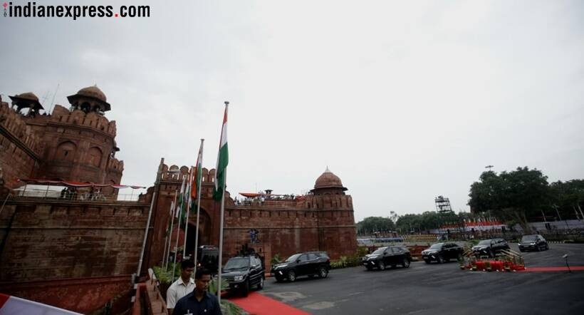 Jashn-e-Azaadi : PM Modi's moments after his speech at Red Fort