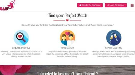 "Rent A Boy|Friend – helping women ""avoid"" & ""cure"" depression one boyfriend at a time"