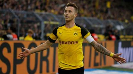Marco Reus reaches 100 goals as Borussia Dortmund beat Leipzig 4-1