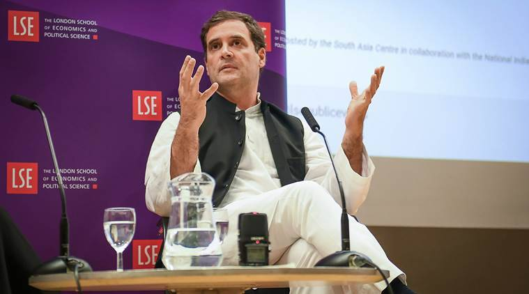 """Rahul Gandhi on Friday had compared the BJP's ideological parent to the """"Muslim Brotherhood in the Arab world"""", accusing it of """"changing the nature of India""""."""