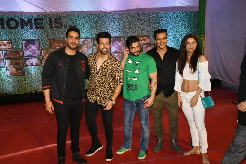 Rithvik Dhanjani at Home screening
