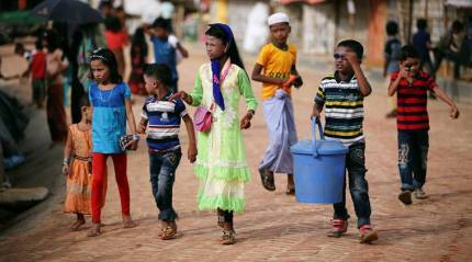 Red Cross says conditions not right for Rohingyas toreturn