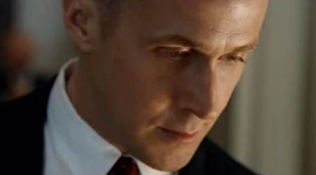 ryan gosling plays neil armstrong in First Man