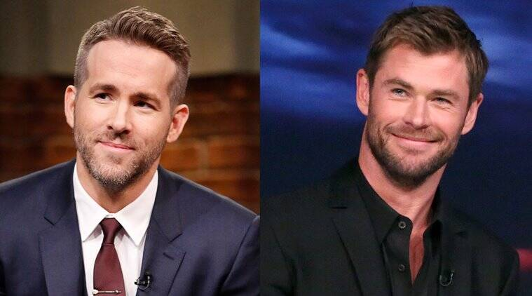 Chris Hemsworth welcomes Ryan Reynolds to MCU