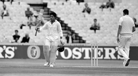 On This Day: Sachin Tendulkar scores maiden international century against England