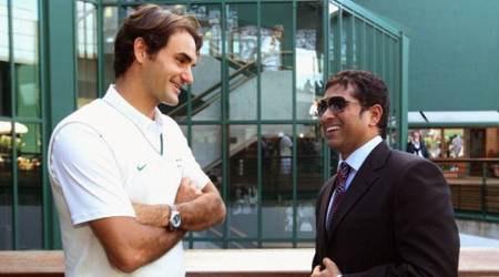 Roger Federer, Roger Federer birthday, Roger Federer news, Sachin tendulkar, sports news, cricket, tennis, Indian Express