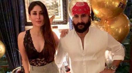 Kareena Kapoor Khan pulls off a sheer lace top like a boss at Saif Ali Khan's birthday bash