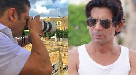 Bharat actor Salman Khan turns photographer for Sunil Grover
