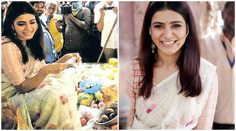 Samantha Akkineni turns vegetable seller