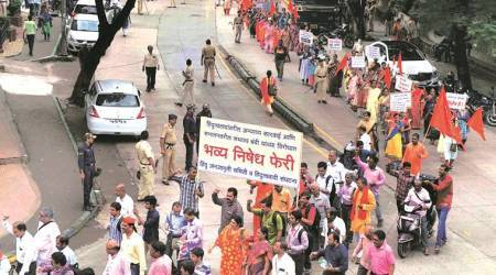 Sanatan Sanstha takes out rally against groups demanding its ban in Thane