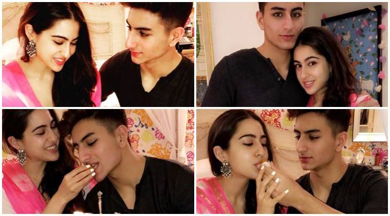 sara lai khan, Ibrahim Ali Khan photo