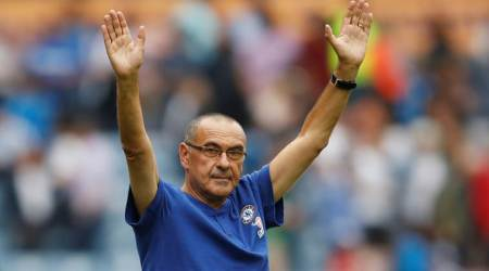 Chelsea's Maurizio Sarri gets winning start at Huddersfield Town