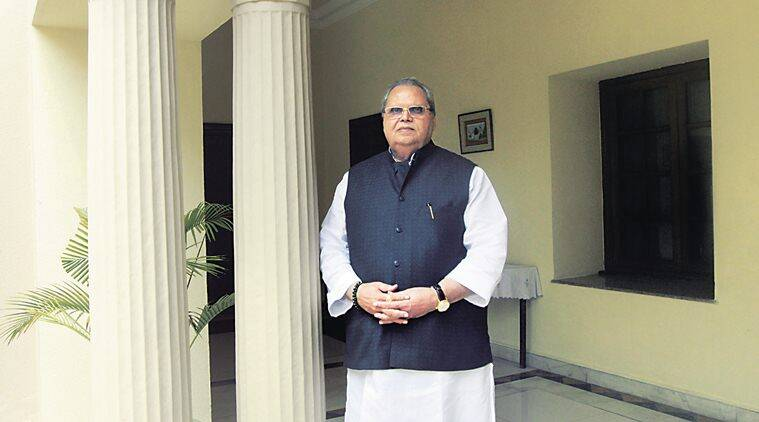 satyapal malik, jammu and Kashmir, J&K panchayat elections, pdp, national conference, satyapal malik on article 35A, article 35A, article 370