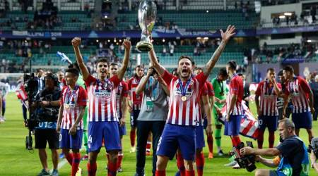 WATCH: Atletico Madrid's Saul Niguez scores left-footed screamer in UEFA Super Cup against Real Madrid