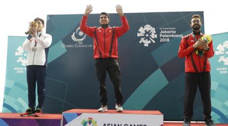 Asian Games 2018 Day 3 Live updates Live streaming: Gold and bronze for India in Men's 50m Air Pistol