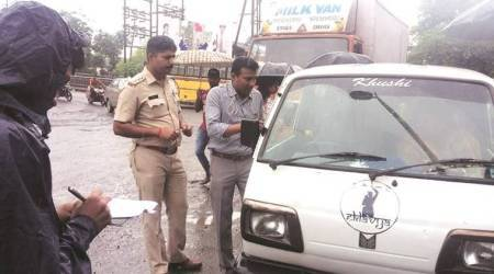 Kalyan: Crackdown on school vans for overcrowding, 86 vehicles booked